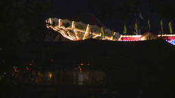 HD2008-7-2-16 midway night Stock Video Footage
