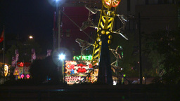 HD2008-7-2-20 midway night the zipper ZZ Stock Video Footage