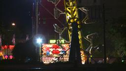 HD2008-7-2-20 midway night the zipper ZZ Stock Video Footage