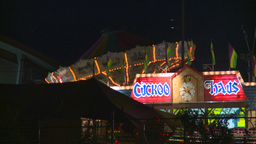 HD2008-7-2-26 midway night Stock Video Footage