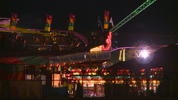 HD2008-7-2-32 midway night Stock Video Footage