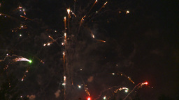 HD2008-7-2-34 night fireworks Stock Video Footage