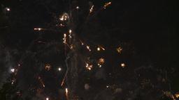 HD2008-7-2-34 night fireworks Footage