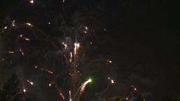 HD2008-7-2-34 night fireworks Stock Video Footage