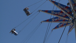 HD2008-7-3-20 midway rides Stock Video Footage