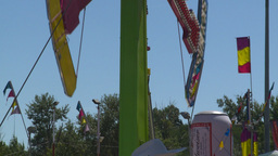 HD2008-7-3-24 midway rides Footage