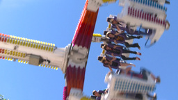 HD2008-7-3-30 midway rides Stock Video Footage