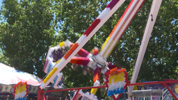 HD2008-7-3-36 midway rides Stock Video Footage