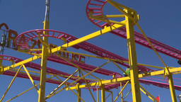 HD2008-7-3-40 midway rides Stock Video Footage