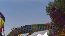 HD2008-7-3-48 midway rides Stock Video Footage
