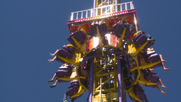 HD2008-7-3-50 midway rides Stock Video Footage