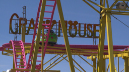 HD2008-7-3-52 midway rides Stock Video Footage