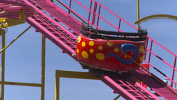 HD2008-7-3-54 midway rides Stock Video Footage