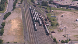 HD2008-7-8-17 aerial Cgy rail yards Footage