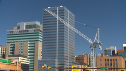 HD2008-7-9-7 crane Stock Video Footage