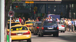 HD2008-7-9-29 traffic people Stock Video Footage