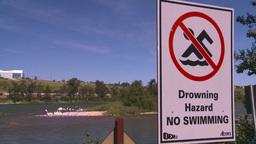 HD2008-7-14-14 drowning hazard Stock Video Footage