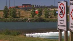 HD2008-7-14-16 drowning hazard Stock Video Footage