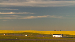 HD2008-7-14-59 canola fields highway Stock Video Footage