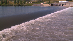 HD2008-7-15-20 weir Stock Video Footage