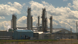 HD2008-7-15-38 gas plant Stock Video Footage