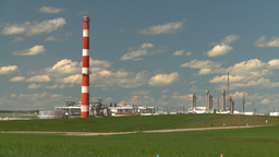 HD2008-7-15-50 gas plant Stock Video Footage