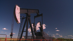 HD2008-7-16-26 pumpjack Stock Video Footage