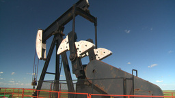 HD2008-7-16-28 pumpjack Stock Video Footage