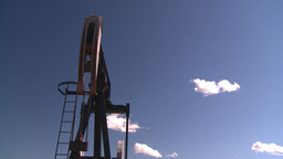 HD2008-7-16-32 pumpjack Stock Video Footage