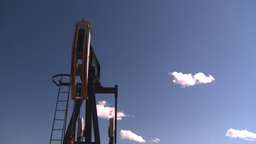 HD2008-7-16-32 pumpjack Stock Video Footage