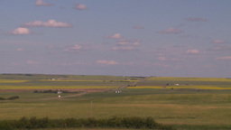 HD2008-7-16-34 wheat fields Stock Video Footage