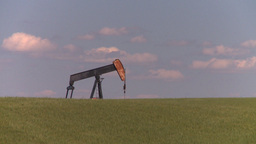 HD2008-7-16-38 pumpjack Stock Video Footage