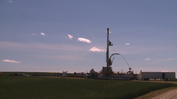 HD2008-7-16-40 drill rig Stock Video Footage
