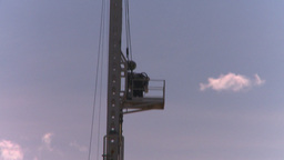 HD2008-7-16-42 drill rig Stock Video Footage