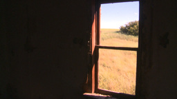 HD2008-7-16-48 interior abandoned farm house Stock Video Footage