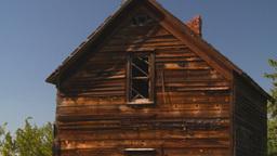 HD2008-7-16-54 abandoned farm house Footage