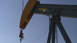 HD2008-7-16-74 pumpjack Stock Video Footage