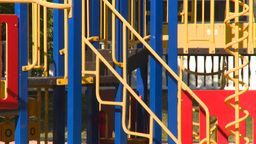 HD2008-7-17-10 empty kids playground Stock Video Footage