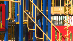 HD2008-7-17-10 empty kids playground Footage