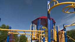 HD2008-7-17-12 empty kids playground Footage