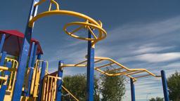 HD2008-7-17-12 empty kids playground Stock Video Footage