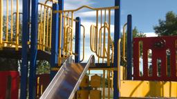 HD2008-7-17-20 empty kids playground Stock Video Footage
