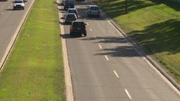 HD2008-7-17-26 blvd traffic Stock Video Footage