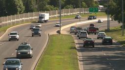 HD2008-7-17-28 blvd traffic Stock Video Footage