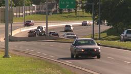 HD2008-7-17-30 blvd traffic Stock Video Footage