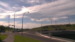 HD2008-7-17-34 blvd traffic and bridge Footage