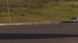 HD2008-7-17-38 street traffic Stock Video Footage
