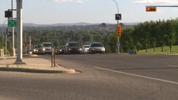 HD2008-7-17-42 street traffic Stock Video Footage