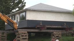 HD2008-6-1-3 House move Stock Video Footage