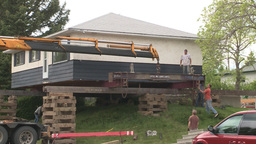 HD2008-6-1-5 House move Stock Video Footage